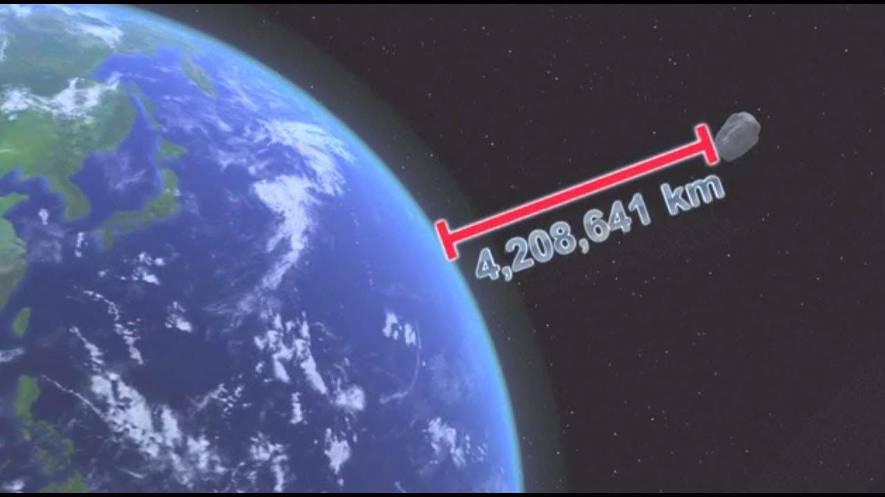 ASTEROID NEAR MISS ON FEB 4TH! - YouTube