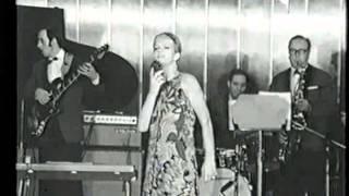Edda Montanari cantante - con intervista del 1969 sul transatlantico Michelangelo