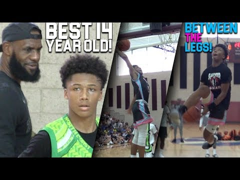 THE BEST 8TH GRADER IN THE WORLD! Mikey Williams GOT CRAZY BOUNCE! Las Vegas Highlights!