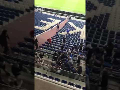 Schalke vs Eintracht Schlägerei