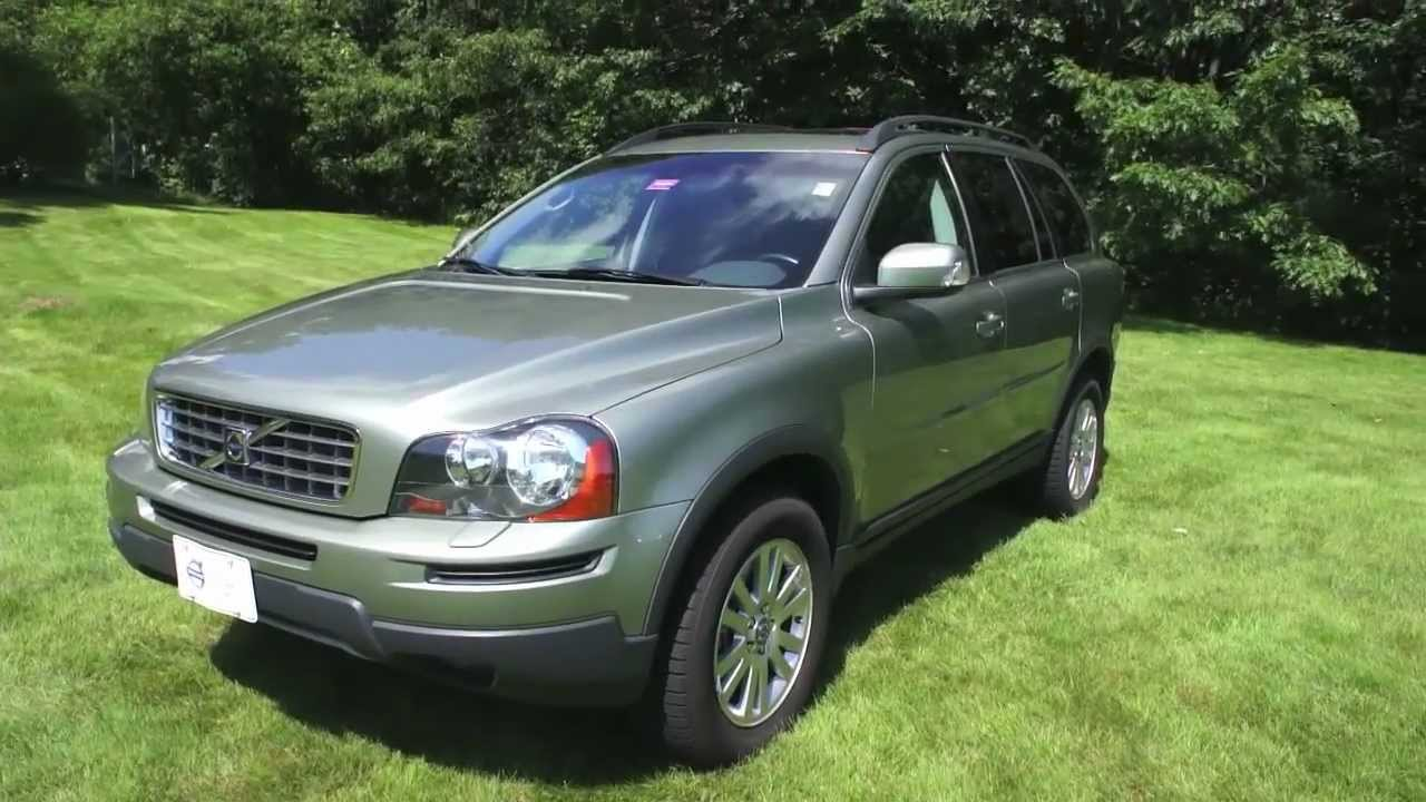 Stock # 3289A 2008 Volvo XC90 3.2 Willow Green For Sale @ PortlandVolvo.com (Scarborough, ME ...