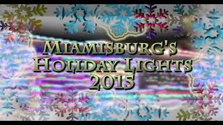 Miamisburg's 2015  Holiday Lighting Awards