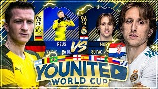 FIFA 18: YOUnited WORLD CUP GamerBrother vs IamTabak 😱🔥 Gruppenspiel #1
