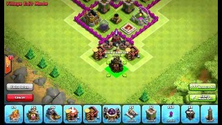 Clash of Clans Layouts - Town Hall 7 Defense Base 115 (Benjamin) with 3 Air Defenses
