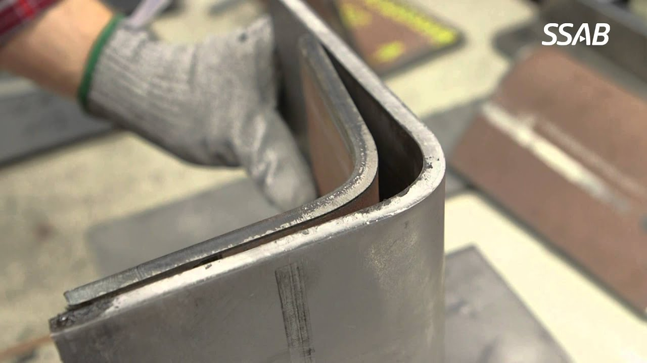 How To Compensate For Springback When Bending High Strength Steel Youtube