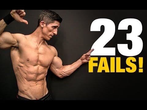 23 Greatest Exercise Fails (HORRIBLE!)