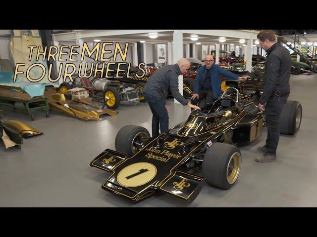 In awe of the original Lotus 72   Three Men Four Wheels