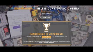 Gané invicto Timeless cup (Copa atemporal)