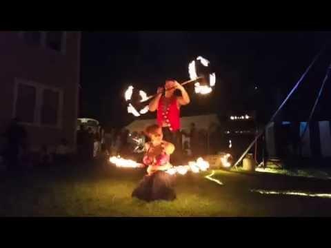 Melissa Lawrence & Scott Campbell Fire Duet