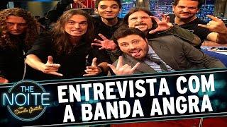 The Noite (10/07/15) - Entrevista com a Banda Angra