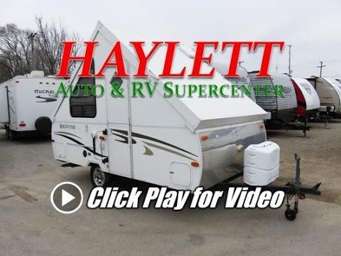 Haylettrv 2011 Rockwood A122 Used Hardside A Frame Popup
