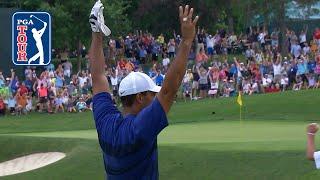 Tiger Woods' top shots of 2018