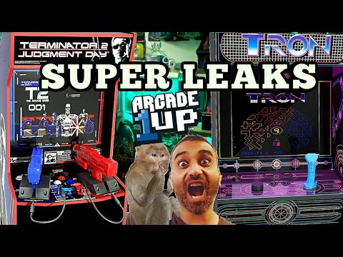 Arcade1up leaks! Thank You Canada from Turbo Joe