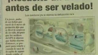 Bebê dado como morto chora antes do velório