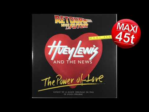 Huey Lewis and the News - the power of love   (extended vinyl 1985)