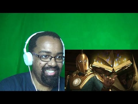 Injustice 2 - Doctor Fate Reveal Trailer Reaction