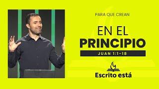 En el principio. | Escrito Está: Servicio de Doctrina Bíblica