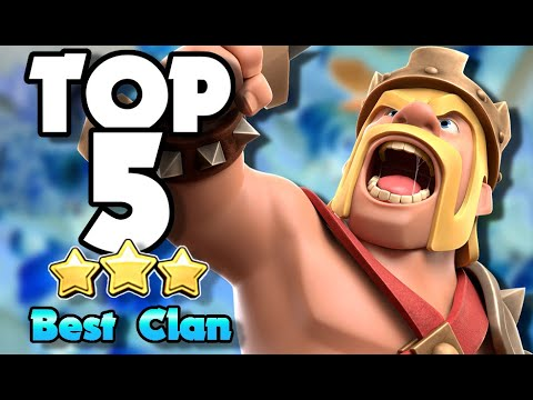 Top 5 Tips To Be The BEST Clan In Clash Of Clans