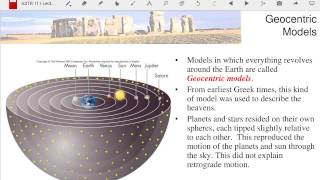 ASTR 111 Lecture 06: Early Astronomy