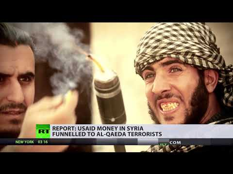 USAID money in Syria funnelled to Al-Qaeda terrorists - repo