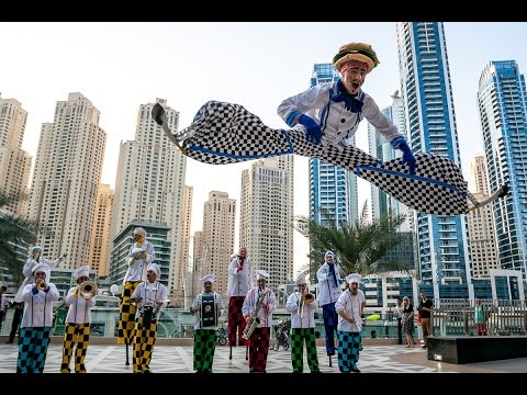 Dubai Marina Mall- Chef Carnival 2015