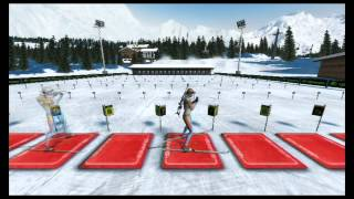 Eurosport Winter Stars - Biathlon - Lake Luson