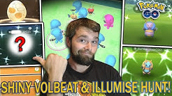 SHINY VOLBEAT & ILLUMISE HUNT! WOBBUFFET SPOTLIGHT HOUR! (Pokemon GO Buddy Event)