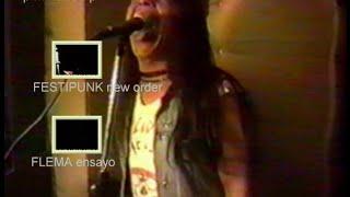 Flema, Superuva y Mal Momento en vivo en New Order Inedito