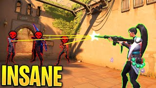 Valorant: When Pro Plaỳers Have 100% ACCURACY..! - Crazy shots & OP plays - Valorant Moments Montage
