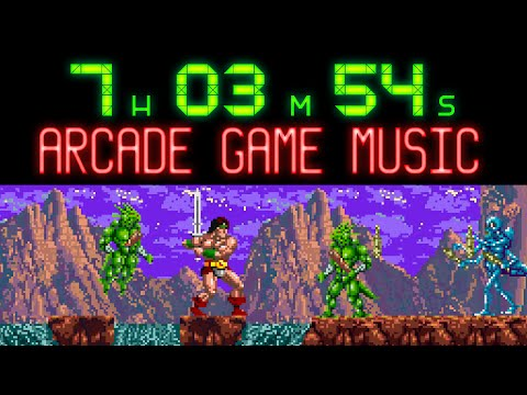 Over 7 hours of Arcade Game Music