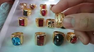PHN | Các mẫu nhẫn nam vàng 10k tuyệt đẹp -Gorgeous gold rings |