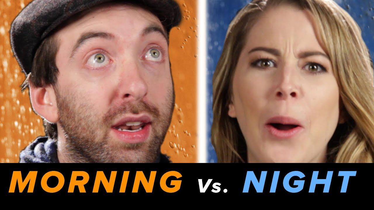 Mañana y noche duchas • Debatable