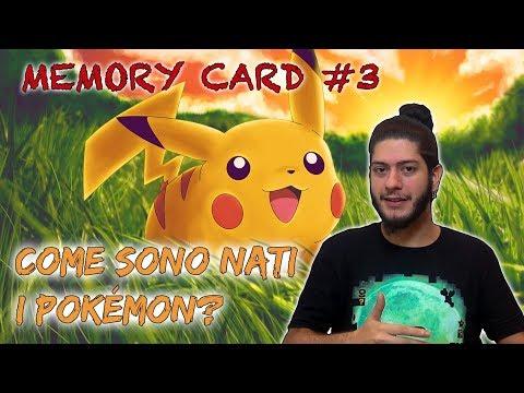 Come sono nati i Pokémon? - Memory Card #3