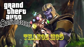 How to Install THANOS Mod in GTA SA | INFO BANK |