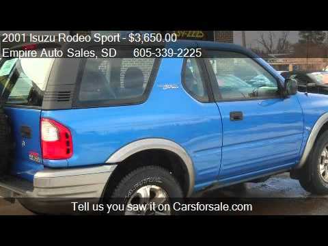 2001 Isuzu Rodeo Sport Sunroof V6 Hard Top 4WD 2dr SUV for s