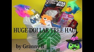 Huge Dollar Tree Haul, with MLP. StarWars, Halloween and much much more.