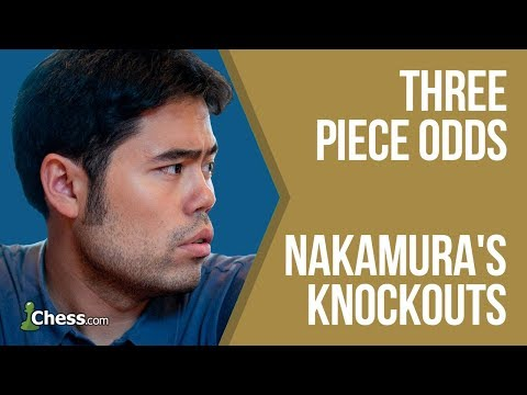 Nakamura's Knockouts: Three Piece Odds Chess Game