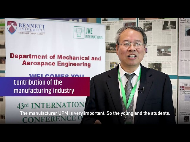 Prof. Jianbin Luo (Academician, Tsinghua University, China) shares his experience visiting BU.