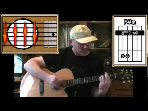 Peaceful Easy Feeling - The Eagles - Acoustic Guitar Lesson (easy-ish)