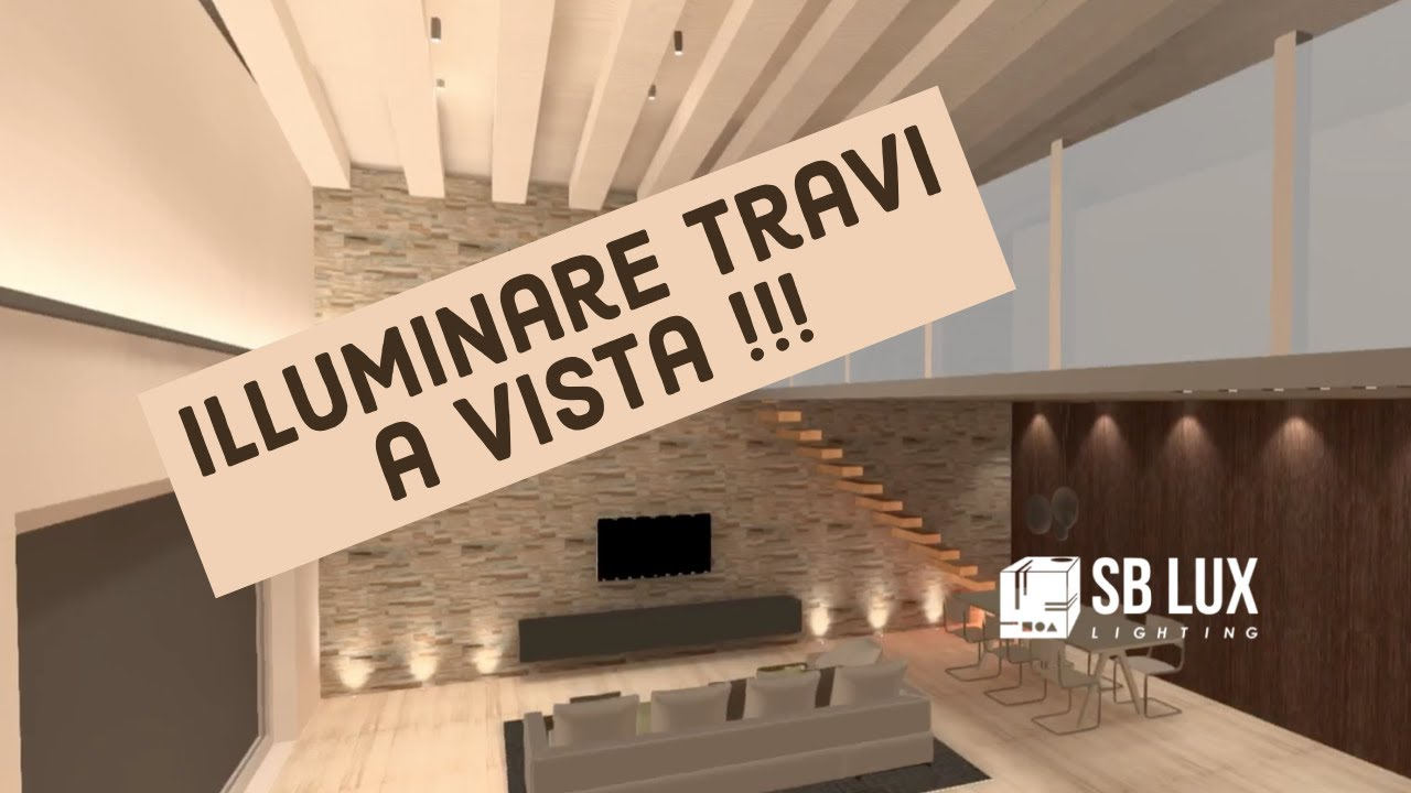 Travi A Vista Illuminazione come illuminare travi a vista pt 2 | metodo luce 3d