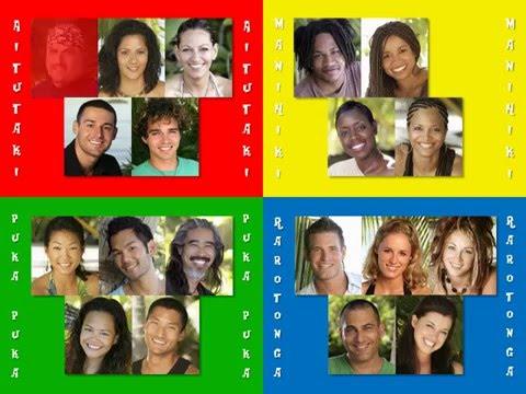 Survivor 13: Cook Islands: Elimination Order