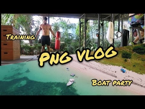 Training and Holiday VLOG to PNG