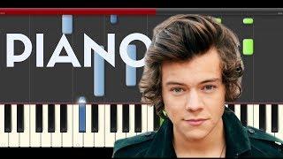Harry Styles Woman Piano Midi tutorial Sheet app Cover Karaoke