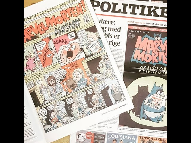 Art Bubble TV: Marvel Morten takker af
