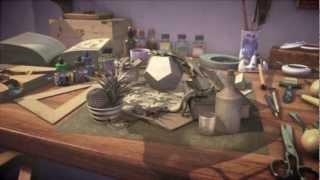 M.C. Escher - Concept of What His Studio Looked Like