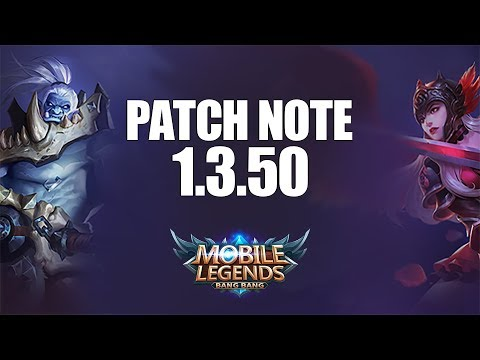 FALLEN LORD DI NERF, SURVIVAL RANK MATCH, HERO BUFF/NERF - PATCH NOTE 1.3.50 MOBILE LEGENDS