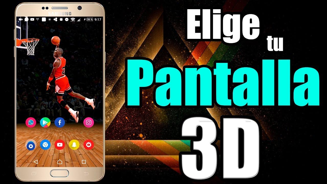 Pantalla 3d Para Cualquier TelÉfono Android