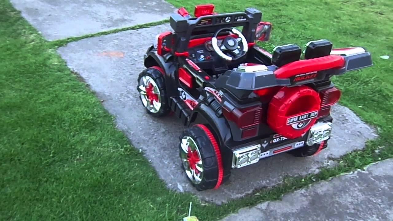 Carro De Ninos A Bateria Con Control Remoto Youtube