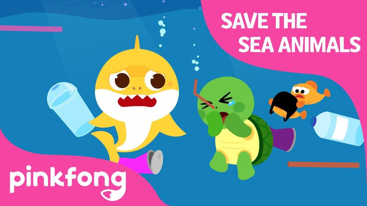 Save the Sea Animals | Shark Week with Baby Shark | Baby Shark Official