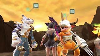 Digimon World: Next Order 'Special Agumon & Gabumon' Gameplay